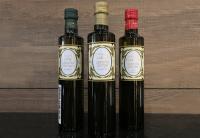 Conjunto de azeite de oliva Uruguaio Colinas de Garzon